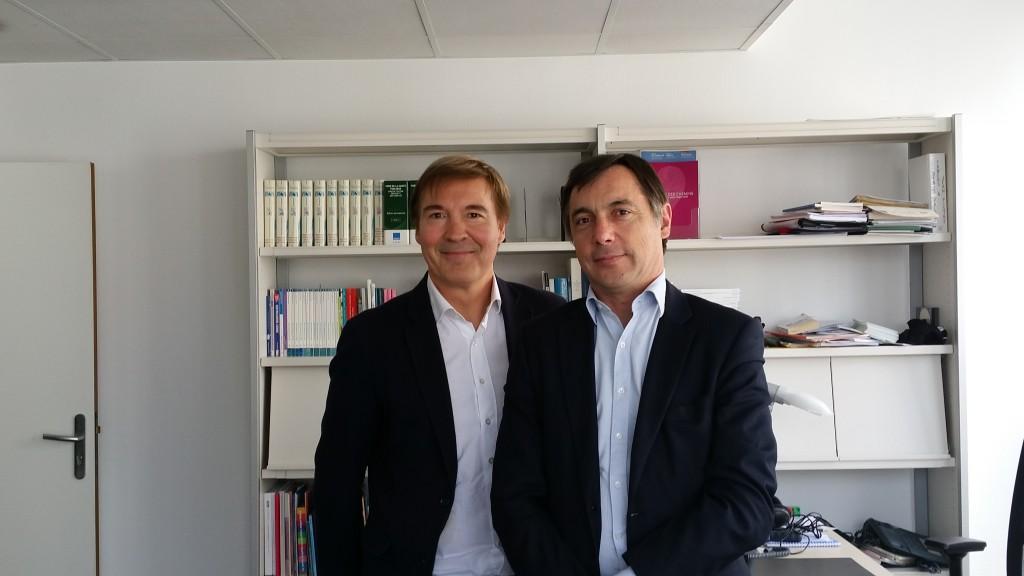 Vincent Diebolt et Emmanuel Goddat