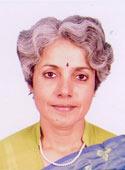 Dr Soumya Swaminathan, directrice générale de l'Indian Concil of Medical Research (ICMR)