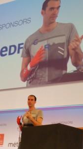 "Nicolas Huchet, fondateur de l'association ""My Human Kit"""