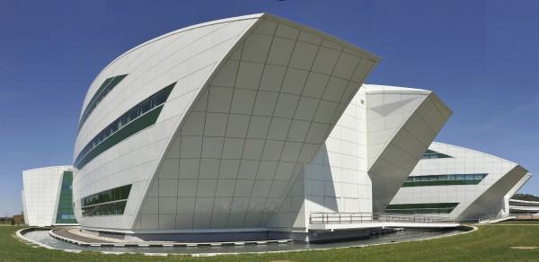 Situé sur le campus de l'Oncopôle, le Centre de R&D Pierre Fabre  abrite un laboratoire de recherche oncologique