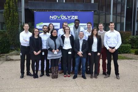 L'équipe de Novolyze s'installe dans ses nouveaux locaux