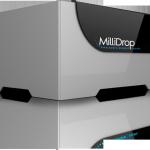 Millidrop : le milieu de culture de l'échantillon est une goutte