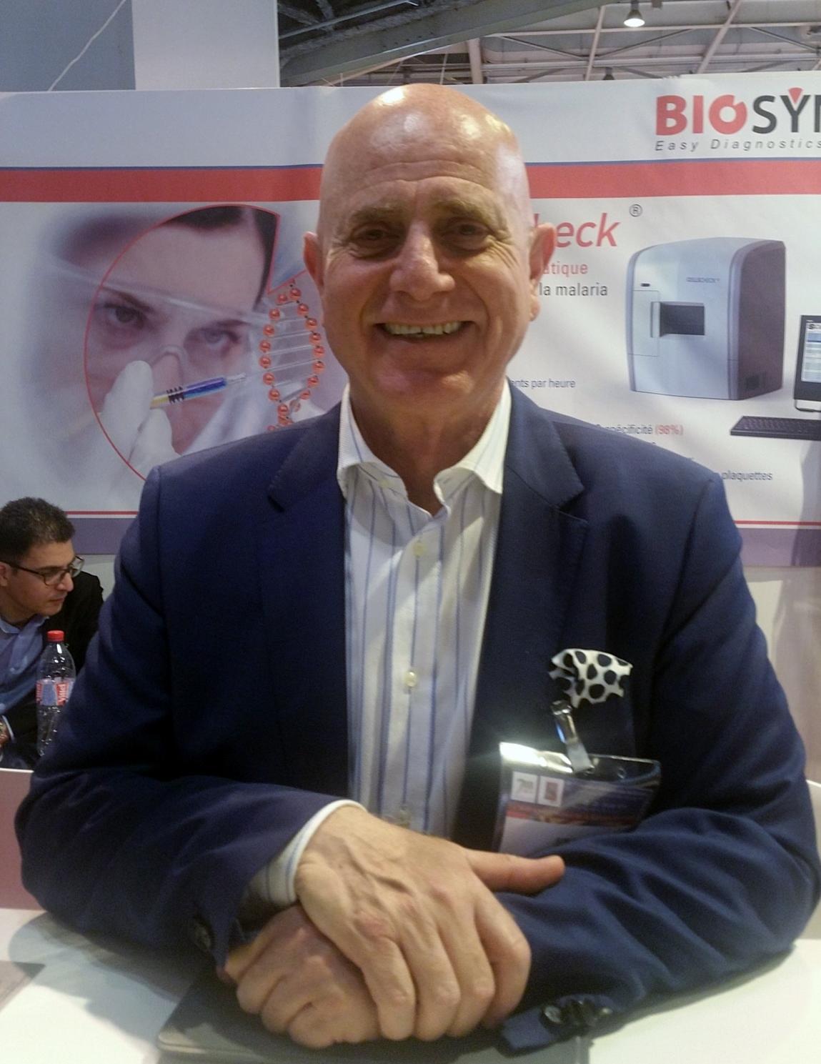 Thomas Lamy, Directeur Général de Biosynex au JIB 2016 @T.Bouveret