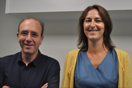 Pierre Weiss et Réjane Bihan