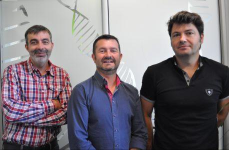 Marc Meichenin, Olivier Boisteau et Frédéric Henry, cofondateurs de Clean Cells