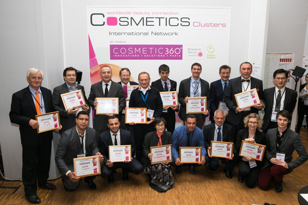 Les fondateurs du Cosmetics Clusters International Network ©Arnaud Lombard/Cosmetic 360