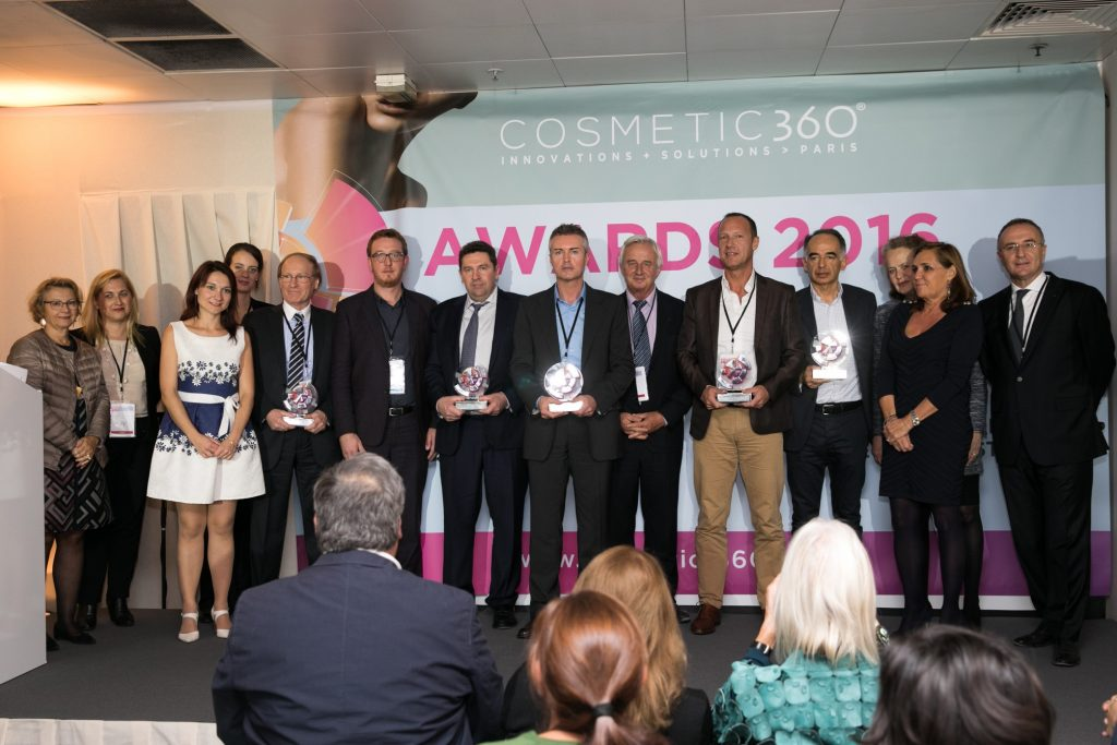 Remise des Cosmetic 360, Arnaud Lombard