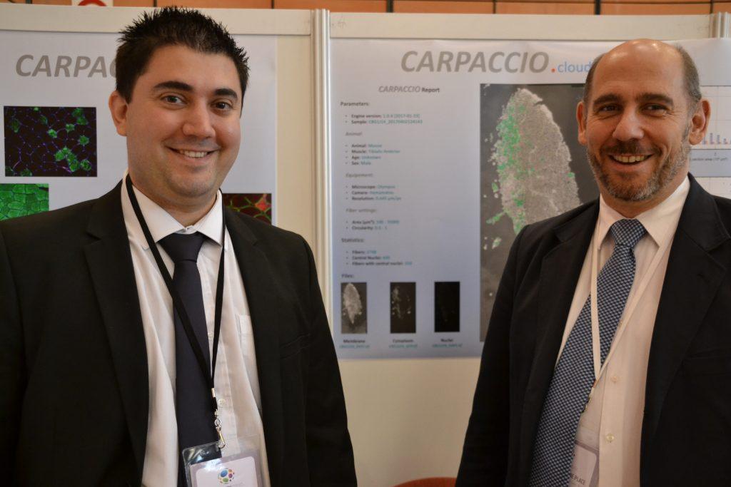 Les deux fondateurs de Carpaccio, Rudy Marty et Brian B. Rudkin.