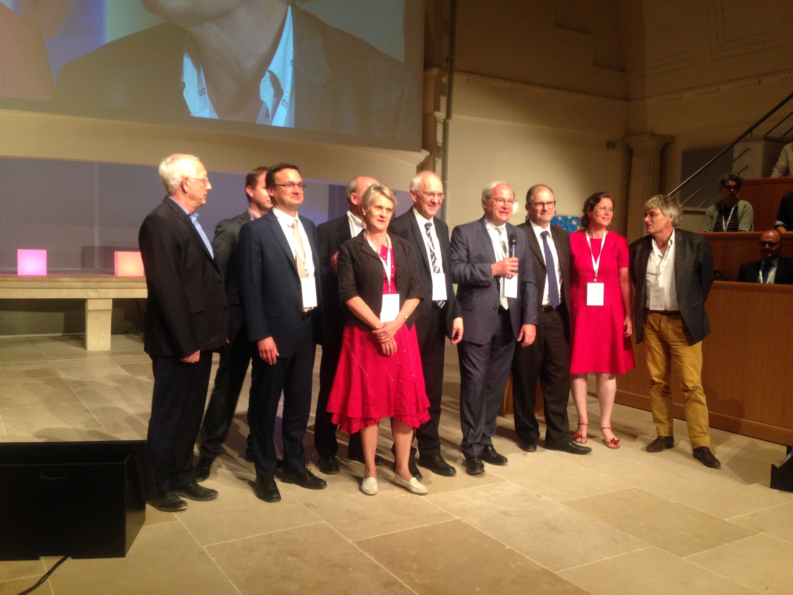 Le jury du prix ITA Innov. Thierry Stadler, le troisième à partir de la droite -crédit ACTA