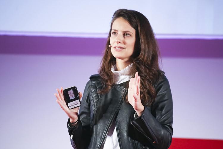 Clémence Franc, CEO de NovaGray ©Gael Kazaz
