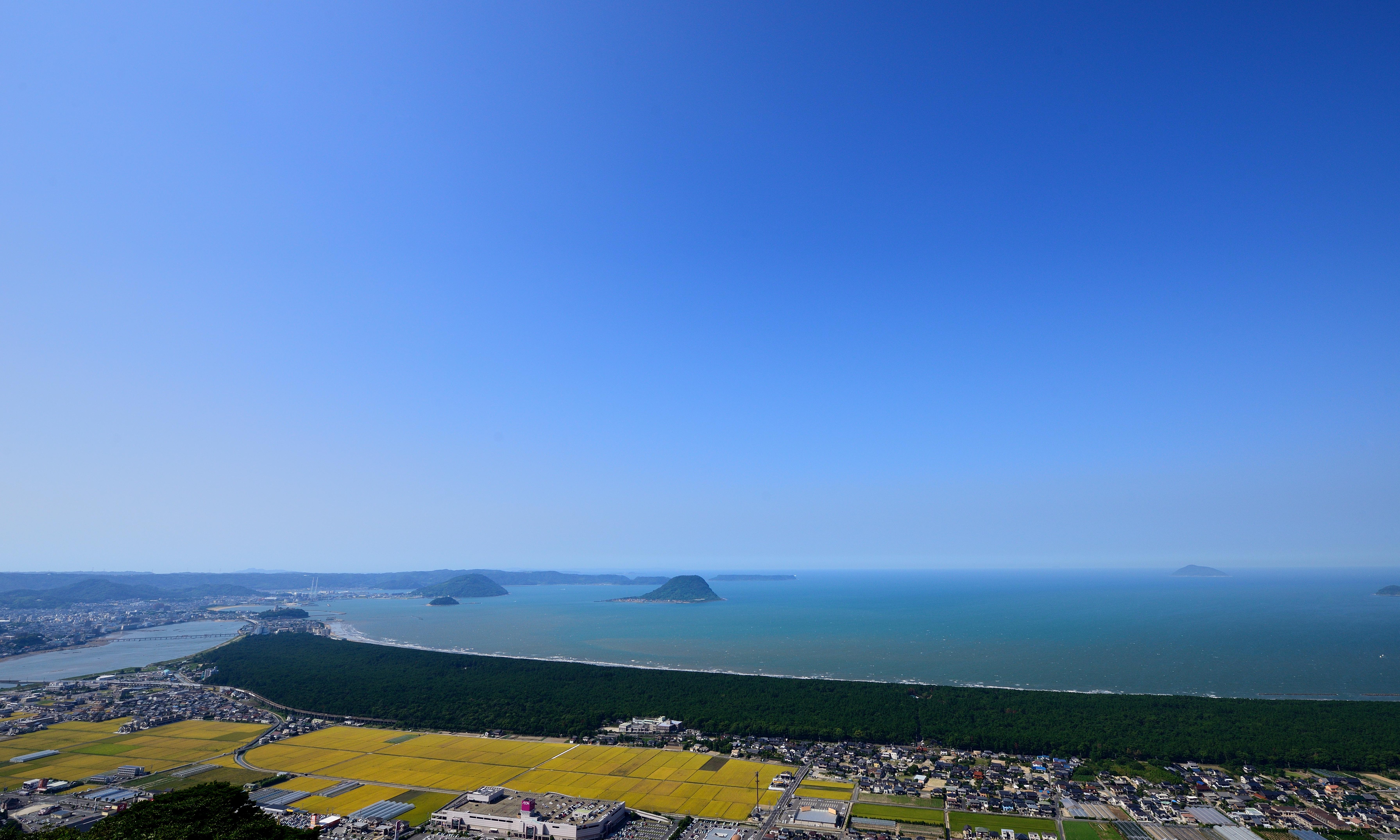 Panorama de la Ville de Karatsu - copyright Ville de Karatsu