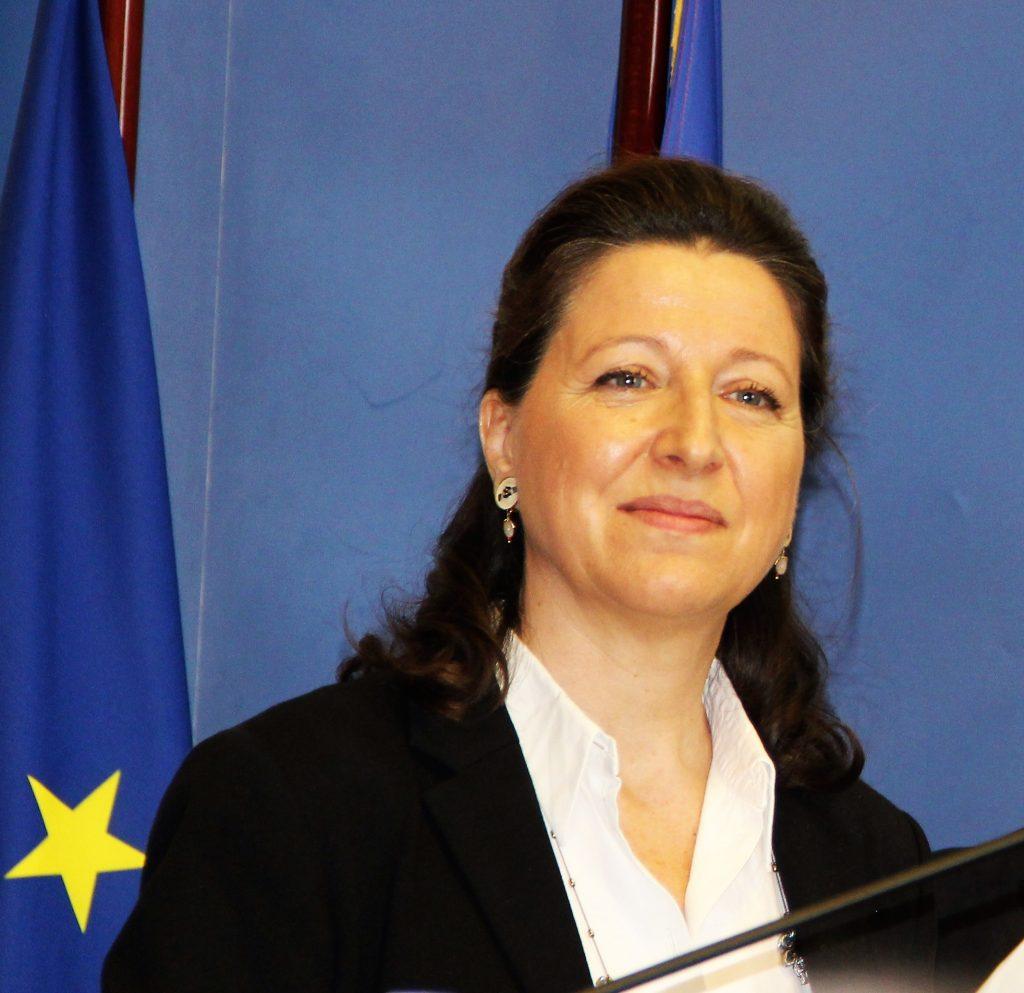Agnès Buzyn, Minsitre de la santé et des solidarités, le 9 mars au Ministère de la Santé - crédit Th. Bouveret
