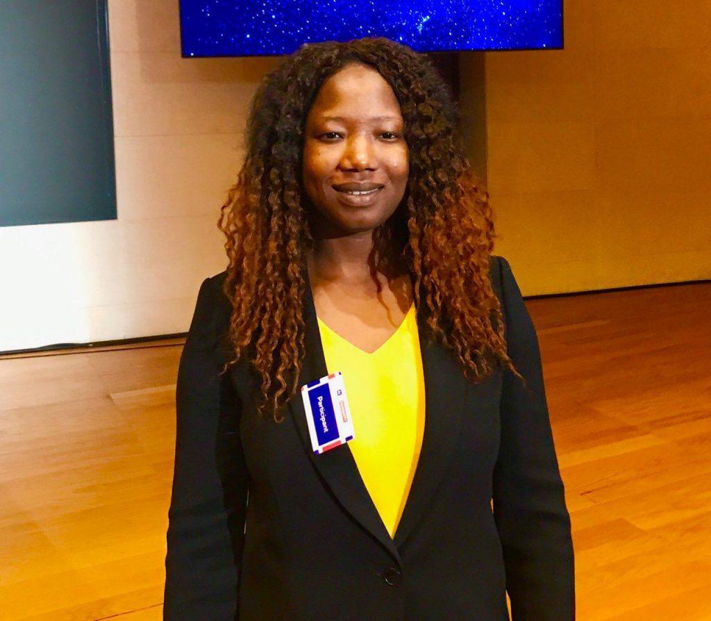 Huguette Tiegna, députée du Lot